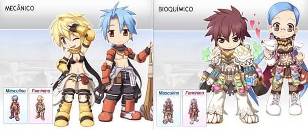 Mecânico e Bioquímico