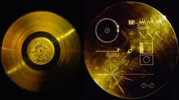 Mensagens em disco - Coisas estranhas enviadas ao espaço