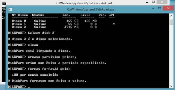 Criando partição primária - Instalar O Windows No HD Externo