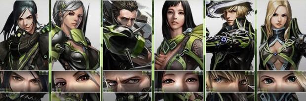 Personagens em Cabal Nexus - classes em Cabal Online