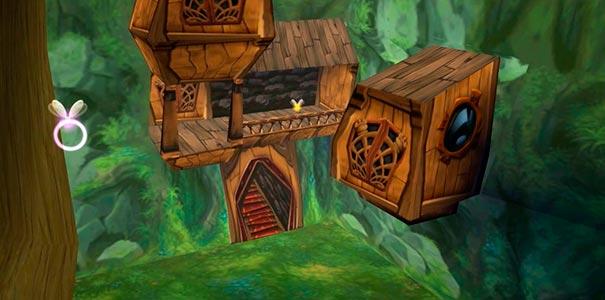 Casinhas em Rayman 2.