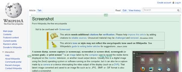 Capturar imagens de tela com o Greenshot.