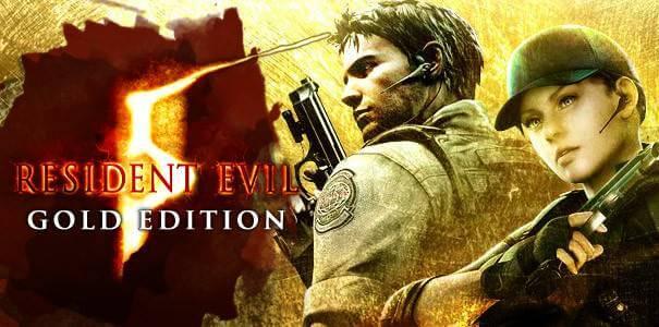 Capa de Resident Evil 5 Gold Edition