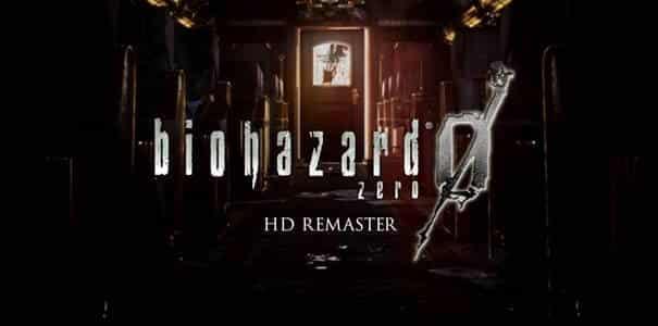 Capa do jogo Resident Evil Zero HD