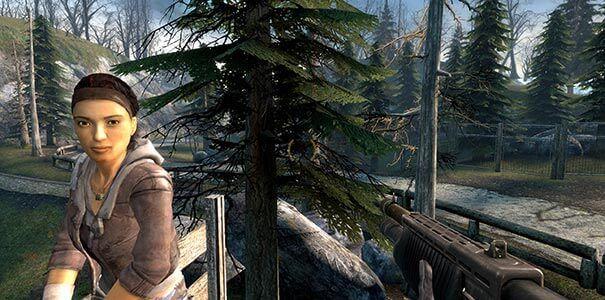 Rost bem definido em Half-Life 2.