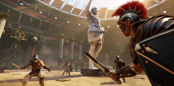 Jogabilidade de Ryse Son of Rome