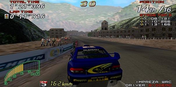 Subaru no Sega Rally 2.