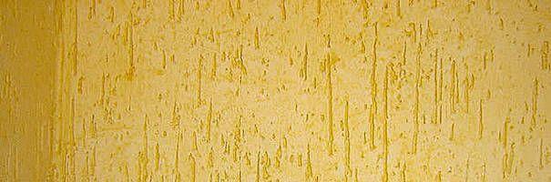Textura Grafiato Rústico - amarelo