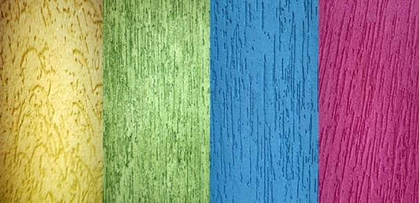 Textura Grafiato Rústico - cores diferentes de grafiato