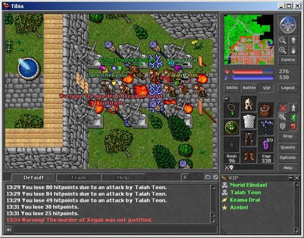 Tibia - MMORPG