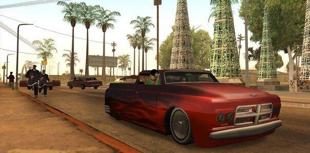 Tiroteio Nas Ruas De Grand Theft Auto San Andreas