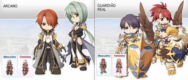 Arcano e Guardião Real