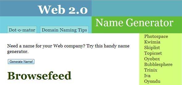 Web name generator está entre os melhores geradores de nick para jogos.