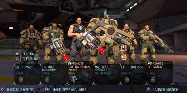Personagens de XCOM Enemy Unknown