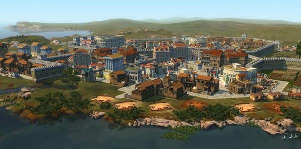 Uma Cidade Romana Completa Em Caesar IV