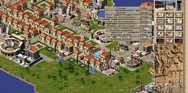 Sitema De Distribuição De Água, Fórum E Senado No Caesar III