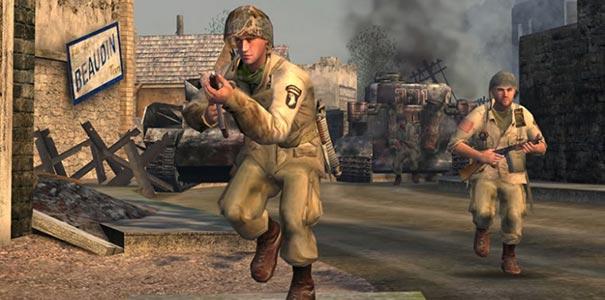 Soldados Prontos Para A Açao No Call Of Duty Clássico