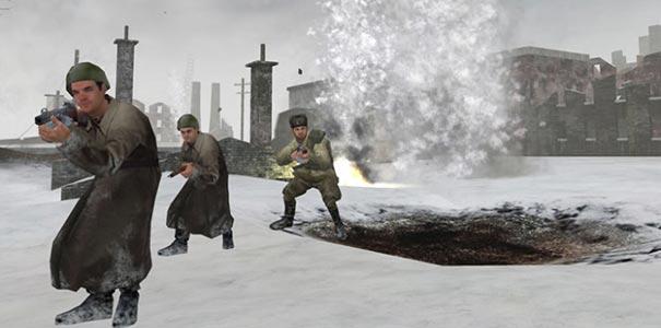 Tropas Sob Ataque Pesado No Call Of Duty Clássico