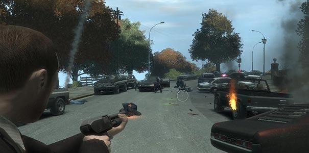 Tiroteio Violento Em Grand Theft Auto IV