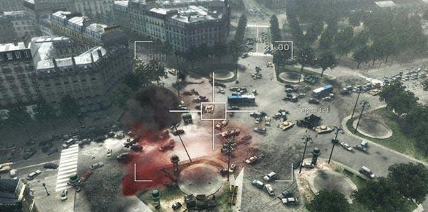Ataque Com Bombas Aéreas Em Call of Duty: Modern Warfare 3