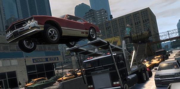 Carro Voando Em Grand Theft Auto IV