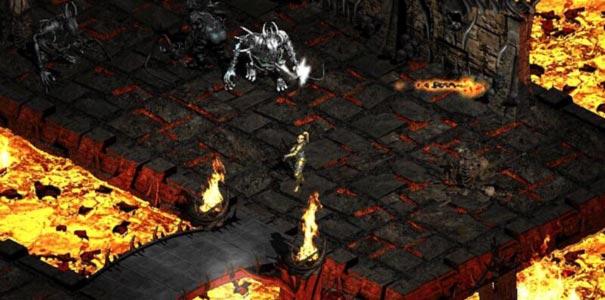 Encarando Blood Boss Em Diablo II: Lord Of Destruction