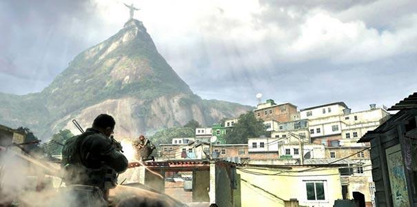 Favela Do Rio De Janeiro Em Call of Duty: Modern Warfare 2