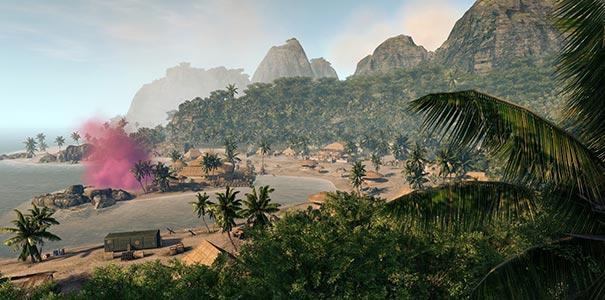 Grande Floresta Em Uma Ilha Do Crysis Warhead