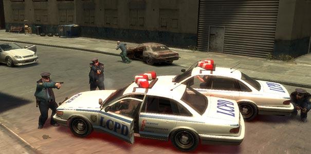 Policiais Dando Um Enquadro Em Grand Theft Auto IV