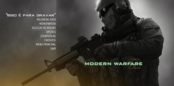 Tela Traduzida Do Call Of Duty 4: Modern Warfare Em Portugues