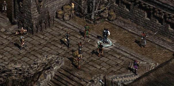 Vários Personagens Em Diablo II: Lord of Destruction