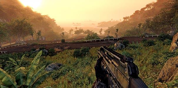 Bela Vista Panoramica Para O Mar Em Crysis Warhead